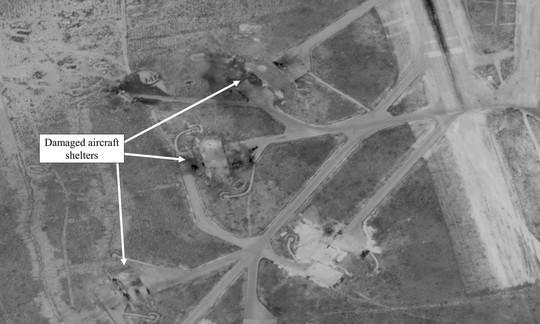 Syria hứng mưa tên lửa mới, Mỹ nhanh chóng lên tiếng - Ảnh 1.