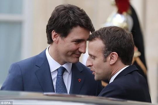 Ngưỡng mộ mối tình giữa 2 nhà lãnh đạo Pháp - Canada - Ảnh 3.