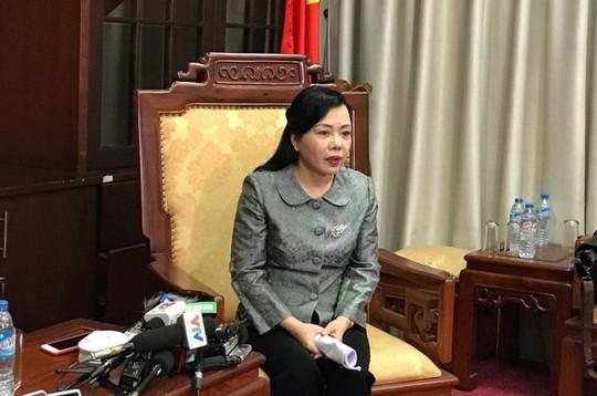 Bộ trưởng Nguyễn Thị Kim Tiến đề nghị công an cắm chốt tại bệnh viện - Ảnh 1.