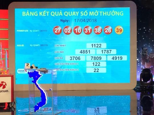Vé số Vietlott trúng gần 70 tỉ đồng bán ở Đồng Nai - Ảnh 1.