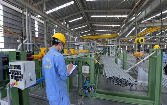 Tập đoàn Hoa Sen ra mắt ống kẽm nhúng nóng - Ảnh 1.
