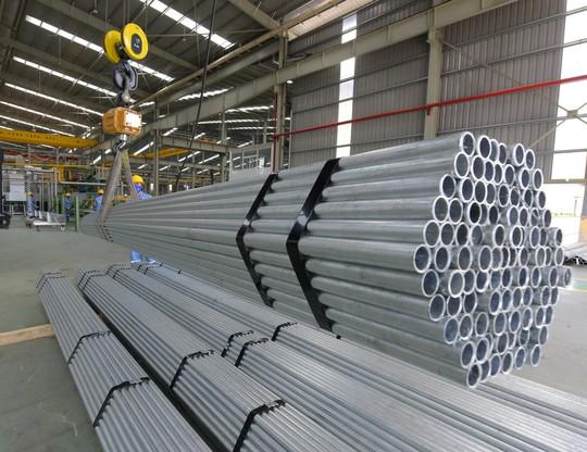Tập đoàn Hoa Sen ra mắt ống kẽm nhúng nóng - Ảnh 2.