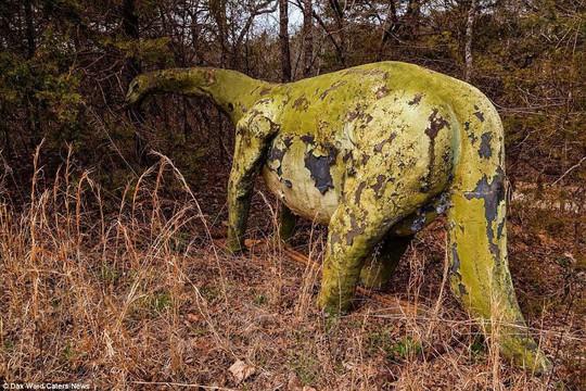 Ám ảnh công viên khủng long bị bỏ hoang - Ảnh 6.