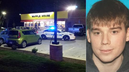 """Mỹ: Truy lùng """"nghi phạm khỏa thân"""" bắn chết 4 người - Ảnh 1."""