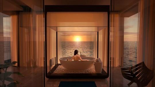 Khách sạn dưới biển đầu tiên trên thế giới - Ảnh 3.