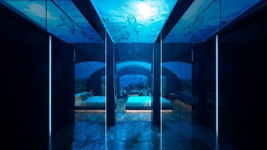 Khách sạn dưới biển đầu tiên trên thế giới - Ảnh 4.