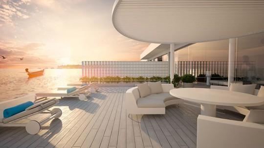 Khách sạn dưới biển đầu tiên trên thế giới - Ảnh 5.