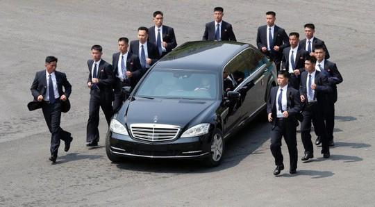 """""""Soi"""" xế sang của lãnh đạo liên Triều - Ảnh 1."""