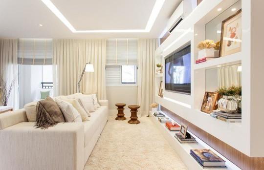 Phòng khách đón mùa hè dịu mát với cách làm mới - Ảnh 3.