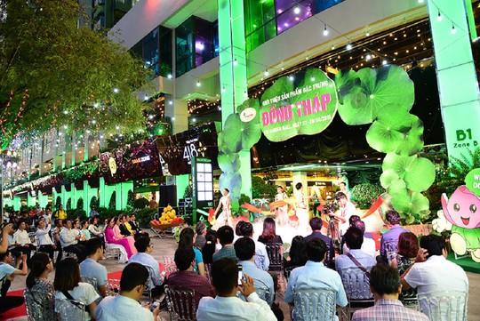 Tưng bừng khai mạc sự kiện hội tụ sản vật Đồng Tháp tại TP HCM - Ảnh 1.