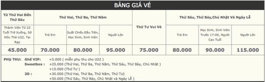 Rạp CGV chính thức lên tiếng về việc thay đổi giá vé - Ảnh 2.