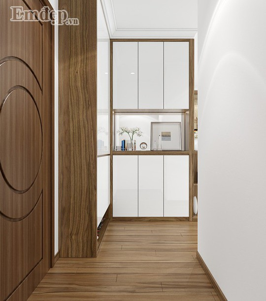 Ngẩn ngơ trước căn hộ thiết kế giản dị mà sang trọng - Ảnh 1.