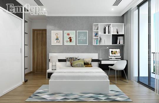 Ngẩn ngơ trước căn hộ thiết kế giản dị mà sang trọng - Ảnh 10.