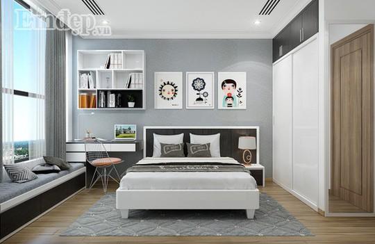 Ngẩn ngơ trước căn hộ thiết kế giản dị mà sang trọng - Ảnh 12.