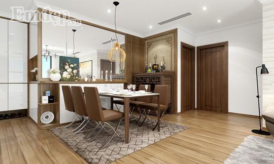 Ngẩn ngơ trước căn hộ thiết kế giản dị mà sang trọng - Ảnh 4.