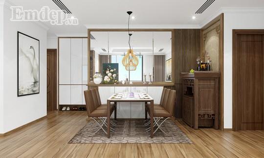 Ngẩn ngơ trước căn hộ thiết kế giản dị mà sang trọng - Ảnh 5.