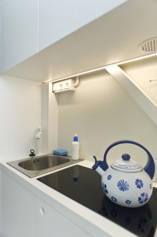 Thiết kế nội thất cực chất ở ngôi nhà hẹp nhất thế giới - Ảnh 13.