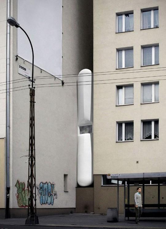 Thiết kế nội thất cực chất ở ngôi nhà hẹp nhất thế giới - Ảnh 2.