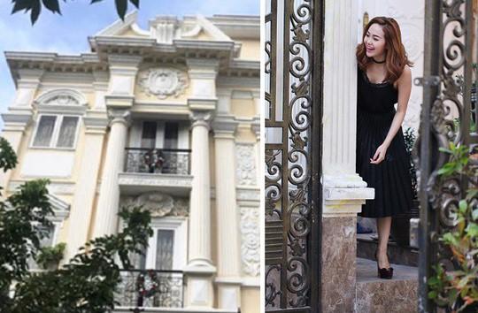 Biệt thự triệu đô đẹp như lâu đài của ca sĩ Minh Hằng - Ảnh 3.