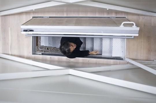 Thiết kế nội thất cực chất ở ngôi nhà hẹp nhất thế giới - Ảnh 5.