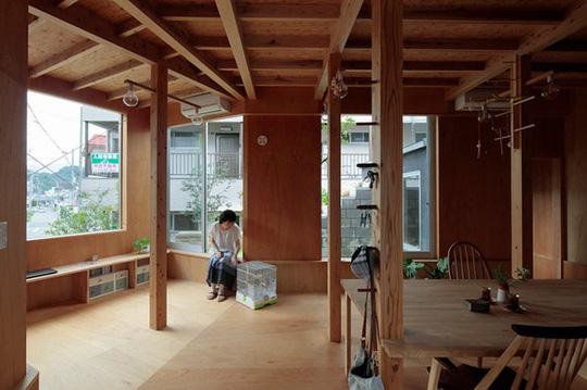 Thích thú ngôi nhà hình nấm bằng gỗ tự nhiên ở Nhật - Ảnh 7.