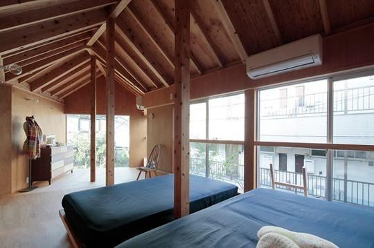 Thích thú ngôi nhà hình nấm bằng gỗ tự nhiên ở Nhật - Ảnh 9.
