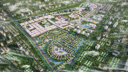 Địa ốc Cát Tường mở bán dự án Khu đô thị Kiến Tường Central Mall - Ảnh 1.