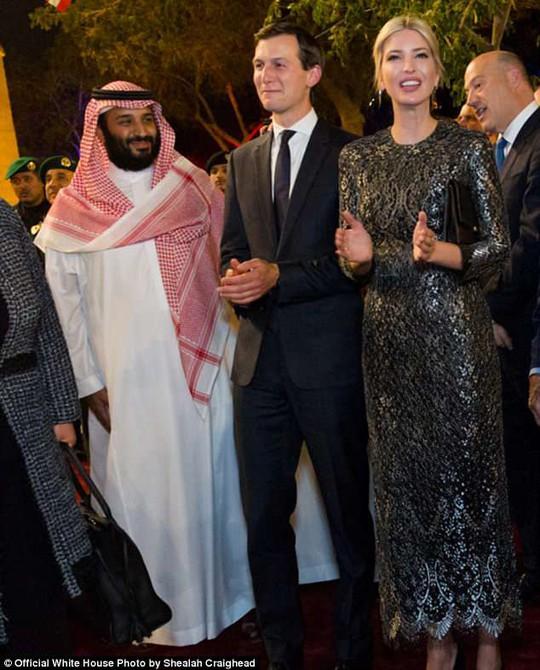 Thái tử Ả Rập Saudi khoe con rể ông Trump tuồn tin tình báo CIA - Ảnh 1.