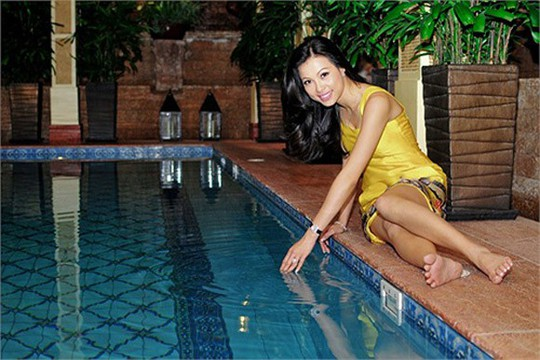 Xem biệt thự dát vàng 300 tỷ của Hoa hậu Ngô Mỹ Uyên - Ảnh 20.