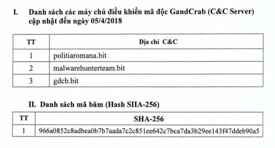 Mã độc tống tiền GandCrab đang tấn công mạnh tại Việt Nam - Ảnh 1.