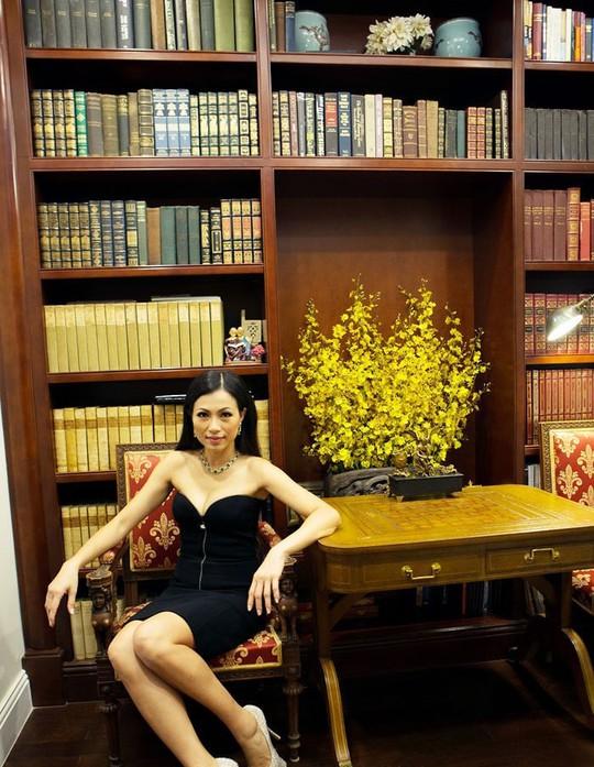 Xem biệt thự dát vàng 300 tỷ của Hoa hậu Ngô Mỹ Uyên - Ảnh 14.