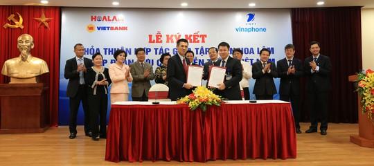 Dấu ấn từ việc ký hợp tác toàn diện Hoa Lâm và VNPT - Ảnh 1.