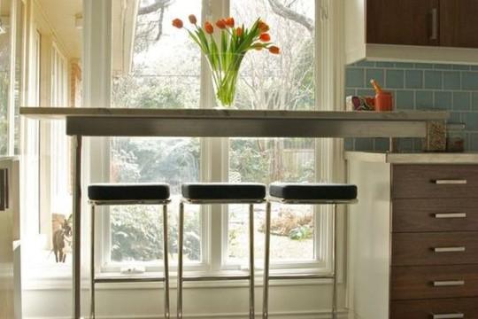Những góc ăn sáng nhỏ xinh trong căn bếp hẹp - Ảnh 1.