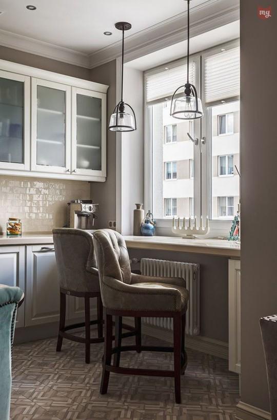 Những góc ăn sáng nhỏ xinh trong căn bếp hẹp - Ảnh 10.
