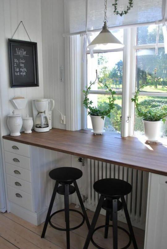 Những góc ăn sáng nhỏ xinh trong căn bếp hẹp - Ảnh 11.