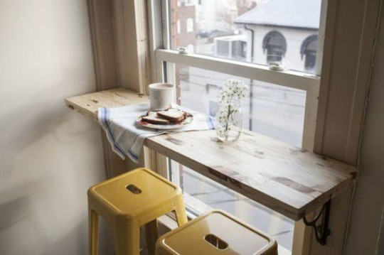 Những góc ăn sáng nhỏ xinh trong căn bếp hẹp - Ảnh 2.