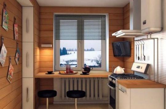 Những góc ăn sáng nhỏ xinh trong căn bếp hẹp - Ảnh 5.