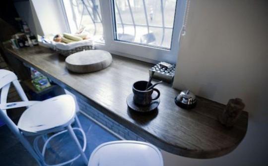 Những góc ăn sáng nhỏ xinh trong căn bếp hẹp - Ảnh 6.