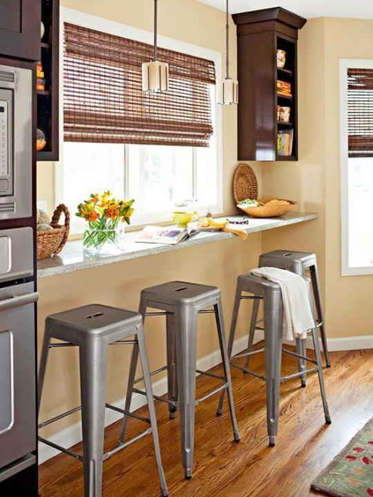 Những góc ăn sáng nhỏ xinh trong căn bếp hẹp - Ảnh 9.