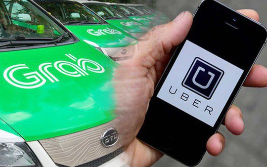 Bộ Công Thương lên tiếng vụ Grab thâu tóm Uber - Ảnh 1.
