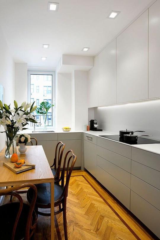 Nhà bếp nhỏ đa chức năng của căn hộ này khiến ai thấy cũng mê - Ảnh 5.