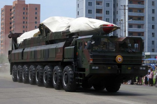 Núi Triều Tiên chạy hơn 3m vì thử hạt nhân - Ảnh 1.