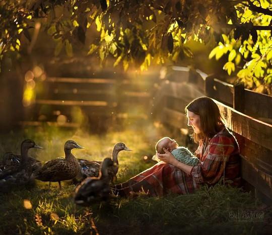Ngày của Mẹ - Ngắm những hình ảnh tuyệt đẹp về tình mẫu tử - Ảnh 5.