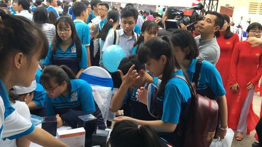 TP HCM: Khai mạc ngày hội giáo dục nghề nghiệp - Ảnh 3.