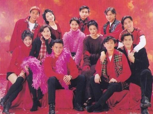 Chùm ảnh quý hiếm của dàn sao TVB - Ảnh 1.