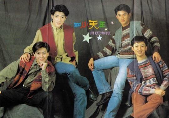 Chùm ảnh quý hiếm của dàn sao TVB - Ảnh 9.