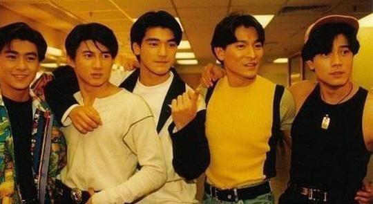 Chùm ảnh quý hiếm của dàn sao TVB - Ảnh 10.