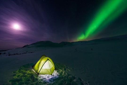 Vẻ đẹp rực rỡ của các khu cắm trại dưới những vì sao - Ảnh 6.