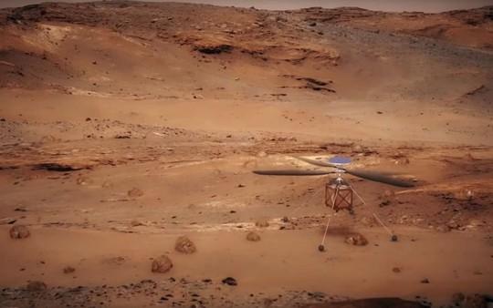 NASA sắp đưa trực thăng lên Sao Hỏa - Ảnh 1.