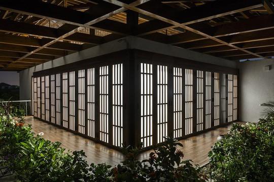Ngất ngây với ngôi nhà 3 tầng đậm chất kiến trúc Nhật Bản - Ảnh 7.